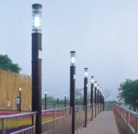 农村led太阳能路灯的防风和防尘是什么样的