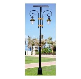 农村led太阳能路灯的搭配规定也不相同在颜色和品质上要关注和谐