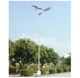 太阳能路灯储能电池的种类及安装防盗措施