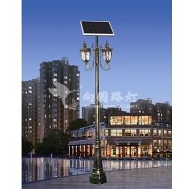 led太阳能路灯厂家是用光能转变成路灯所需要用到的能量