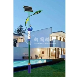厂家给你说明农村led太阳能路灯在什么环境下有不同的特点