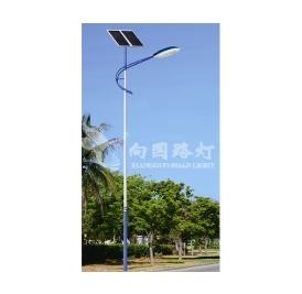 led太阳能路灯不仅可以照明,还起美化效果哦