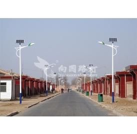 越来越多的农村用上了太阳能路灯!