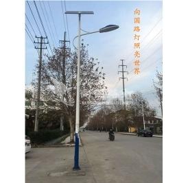 led太阳能路灯以电力和照明的形式向农村带来新的改变